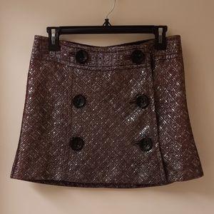 Express Design Studio Metallic Skirt